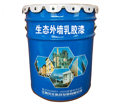 Ecological exterior wall latex paint