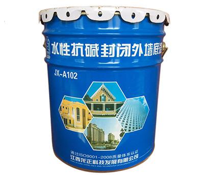 Interior and exterior seal primer