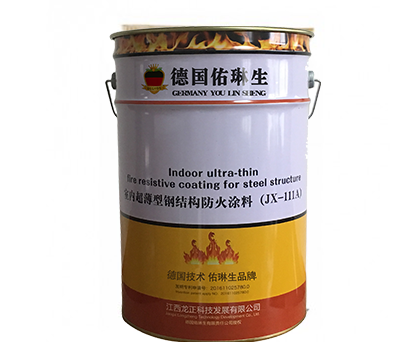 JX-111Fire retardant coating for ultra-thin steel structures