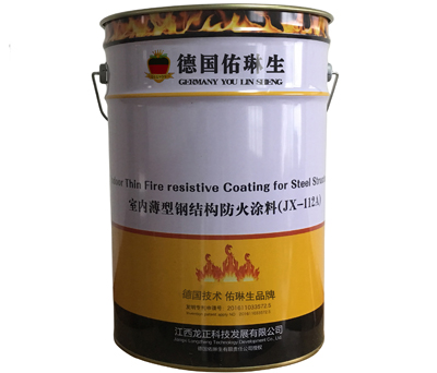 JX-112Fire retardant coating for thin steel structures