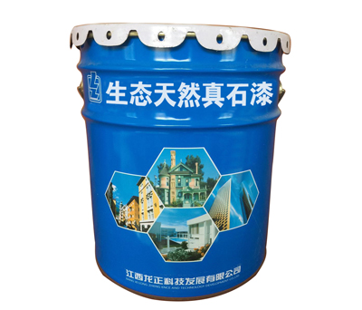 Ecological natural stone paint