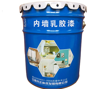Internal and external wall paint latex paint