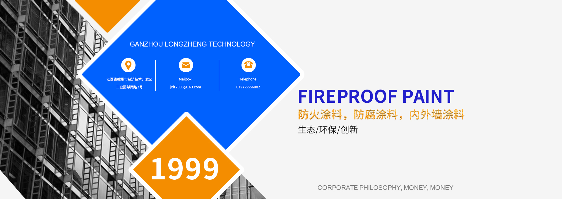 Fireproof coating manufacturer